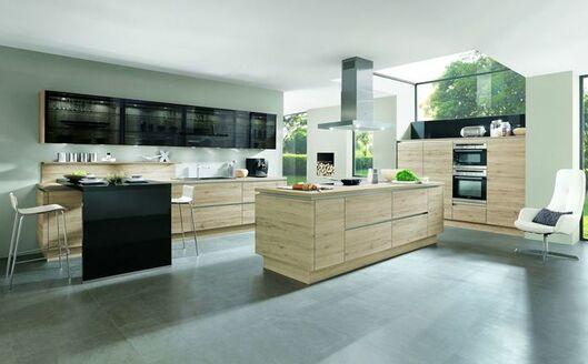 Eiche Küche küche in eiche optik planen was müssen sie dabei beachten