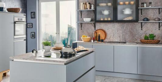 Granit Arbeitsplatte Aus Naturstein Oder Kunststoff Richtige Wahl