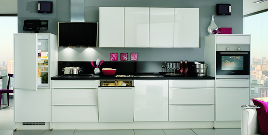 Küchenzeile mit kühlschrank herd weiteren geräten günstig kaufen