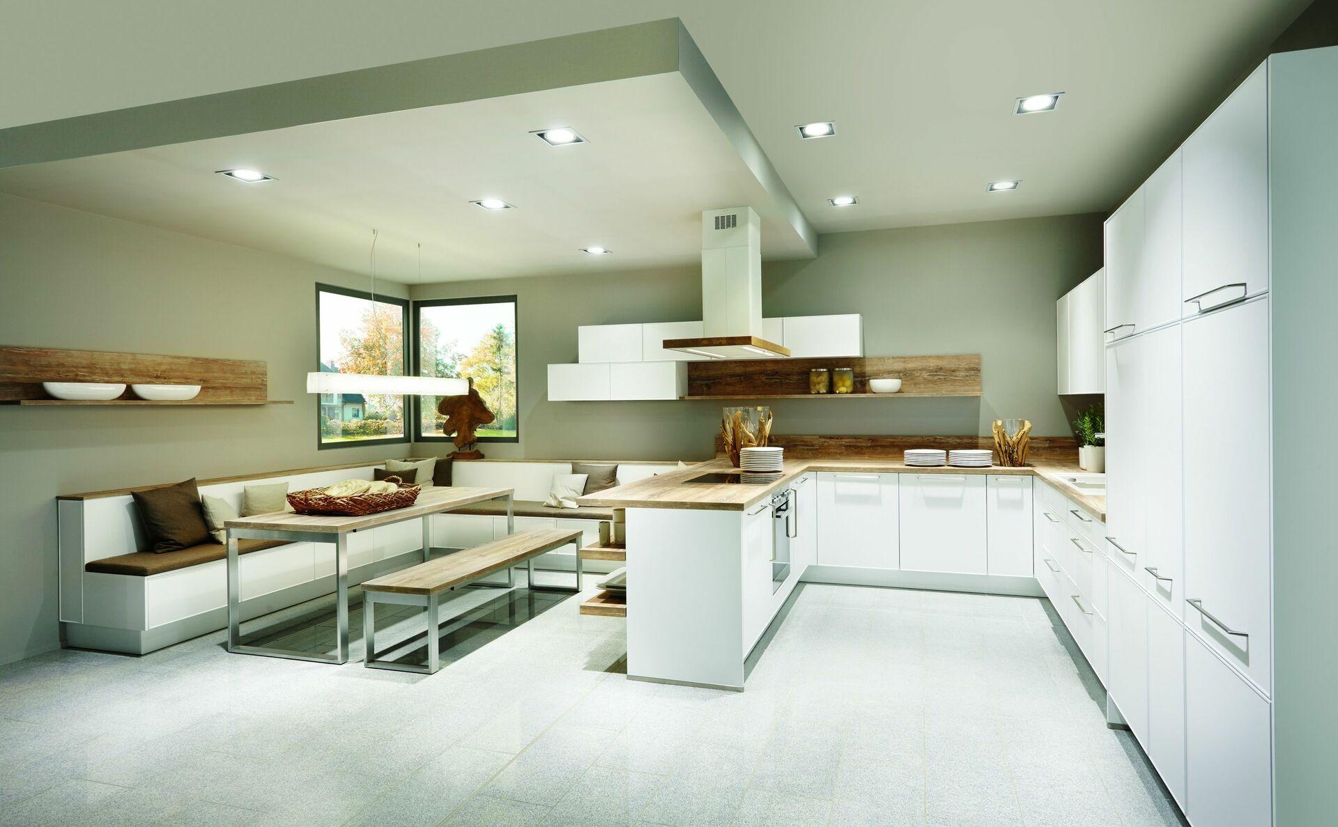 Wohnküchen  Wohnküche: Was ist bei der Planung offener Küchen zu beachten?
