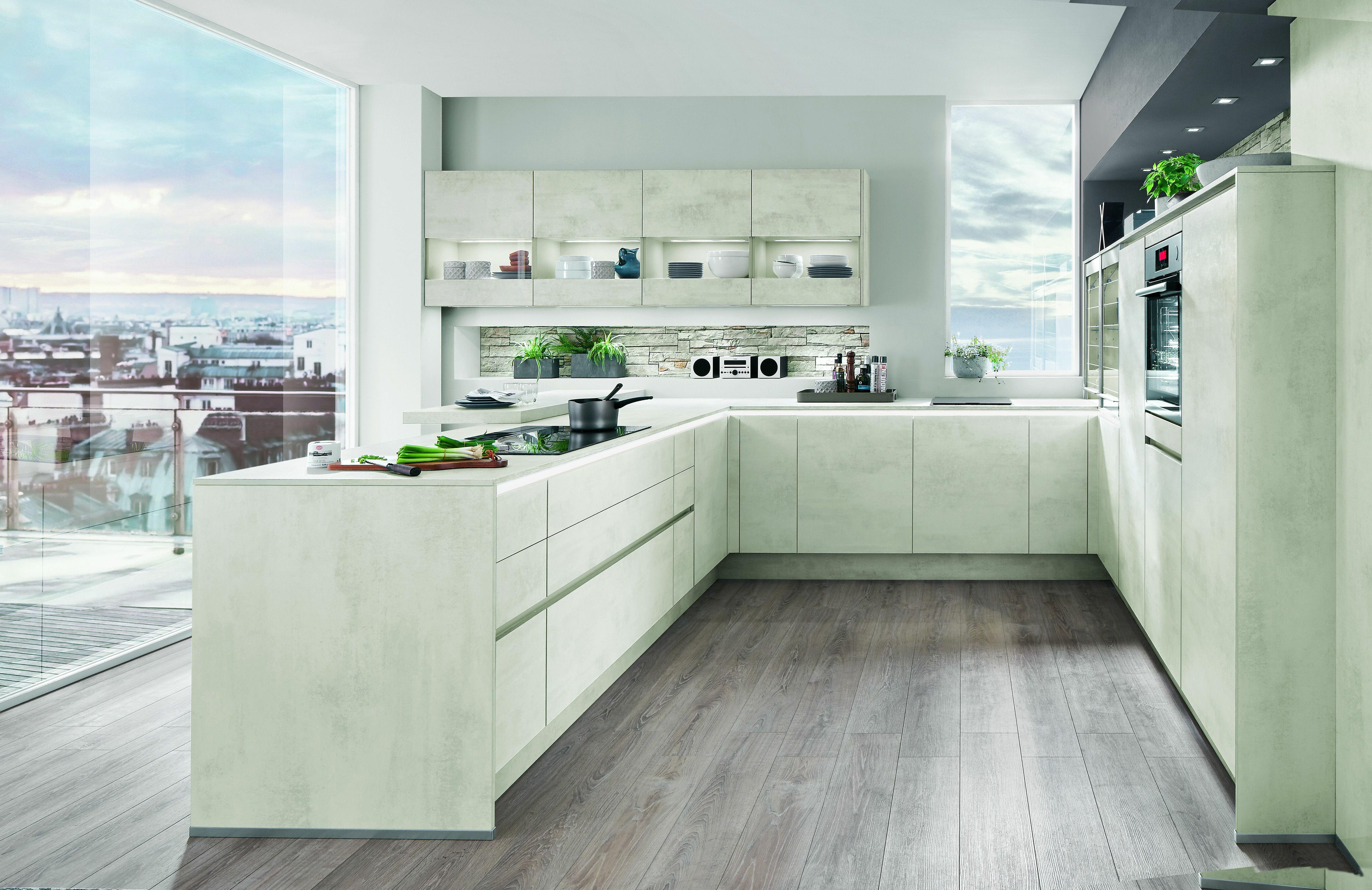 Wunderschön U Küche Foto Von U-förmige Küche Im Modernen Stil